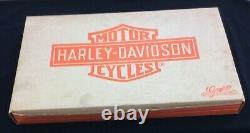 Vintage Rare Harley Davidson 1986 Ho Train Set Athearn No Tracks Inclus