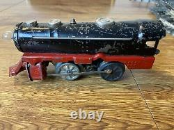 Vtg Girard Marx Tin Joy Line 0 Gauge Electric Train Set 1940s Includes Track