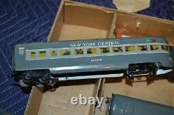 Vtg Marx Stream Line Electric Train Set Box Les Wagons-moteurs Non Testés #35250