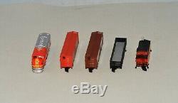 Z Echelle Marklin 81465 Fret Américain Set Avec Train, Track & Bâtiments Lnib